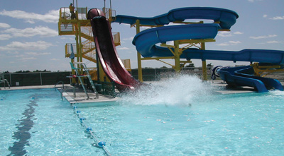 Water Slide Splash